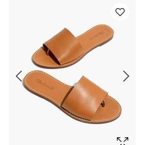 Madewell Boardwalk Post Slide sandal